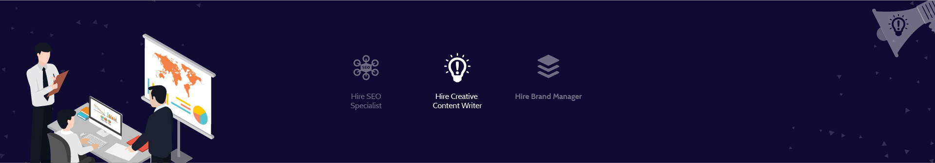 Hire Content Writers