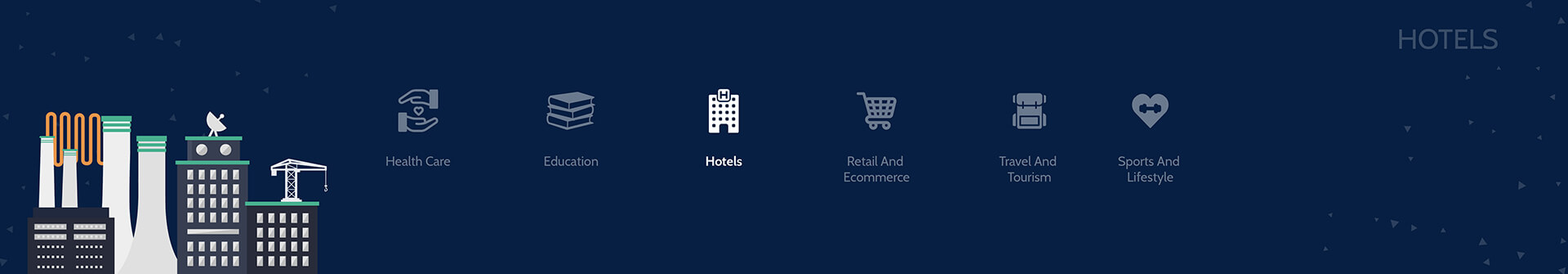 Hotel Industry Web and App Development