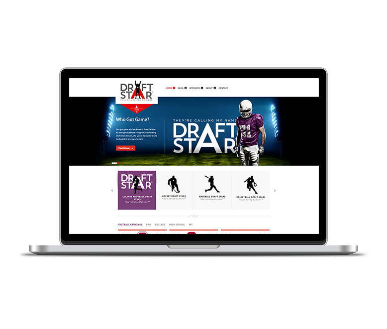 Sports and Lifestyle Industry Web Design