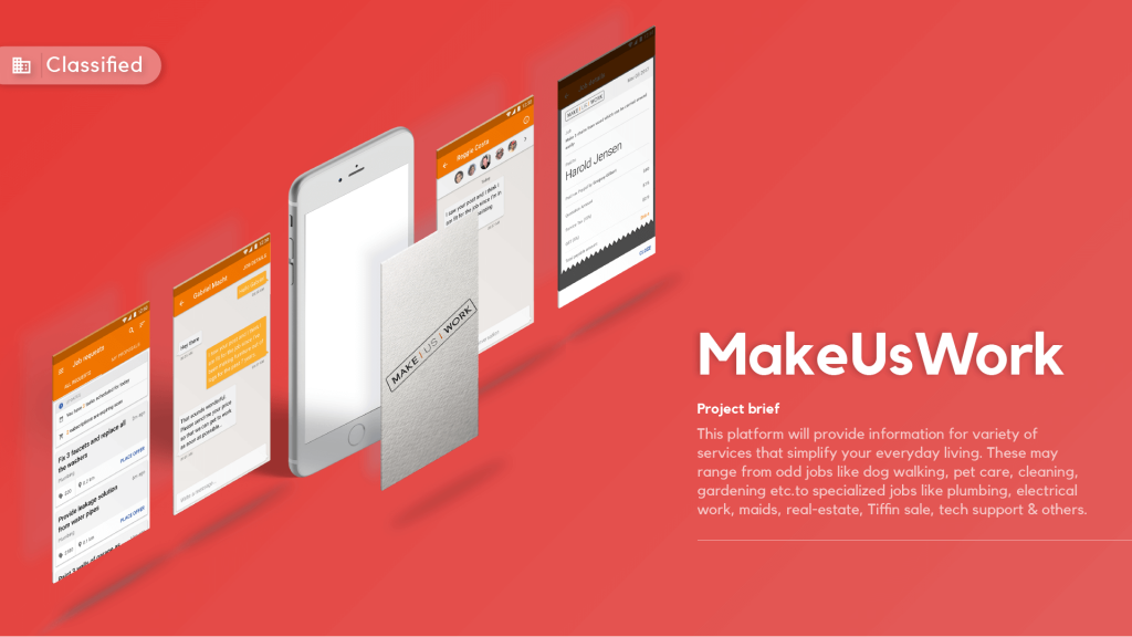 Makeuswork App
