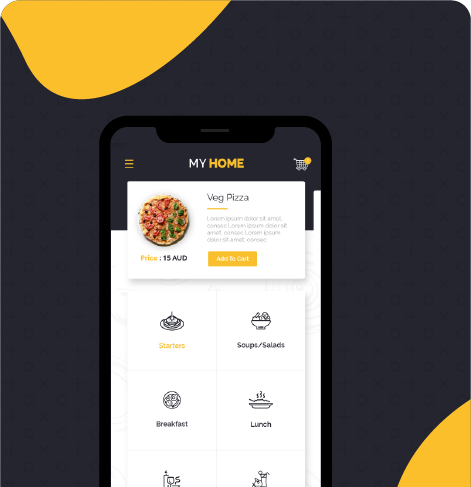 Edge Smart(Zomato Clone) app Built by WebClues Infotech